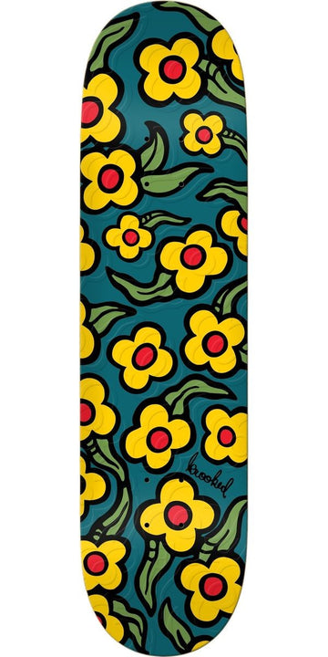 Krooked Wild Style Flower Skate Deck in 8.5