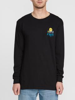 Volcom Family Stones Arthur Longo Long Sleeve Shirt in Black