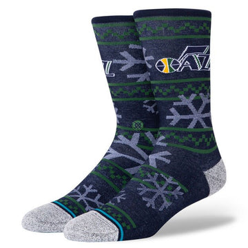 Stance Jazz Frosted Sock in Navy
