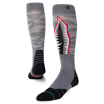 2021 Stance Warbird Snow Sock in Grey