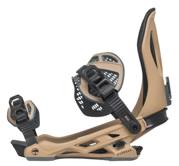 2021 Arbor Cypress Mens Snowboard Binding in Desert