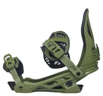 2021 Arbor Hemlock Mens Snowboard Binding in Fatigue