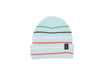2021 Autumn Multi Stripe Beanie in Baby Blue