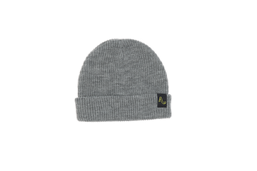 2021 Autumn Simple Beanie in Heather Grey
