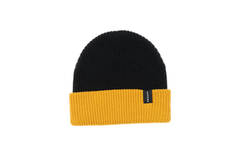 2021 Autumn Select Blocked Beanie in Mustard