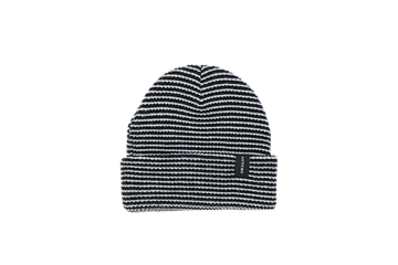 2021 Autumn Select Stripe Beanie in Black