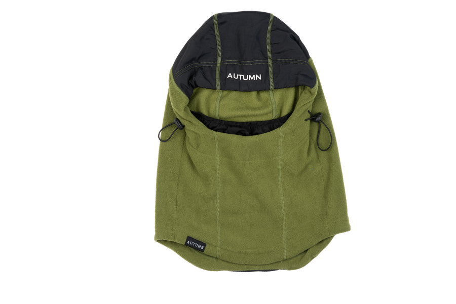 2021 Autumn Hi Tek Hood in Army Green