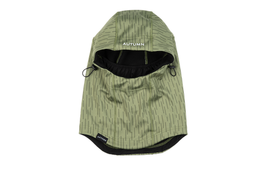 2021 Autumn Bonded Hood in Rain Camo