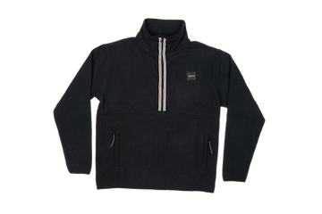 2021 Autumn Vortex Half Zip Fleece in Black
