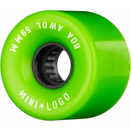 Mini Logo AWOL Skate Wheels 80a Green 59mm