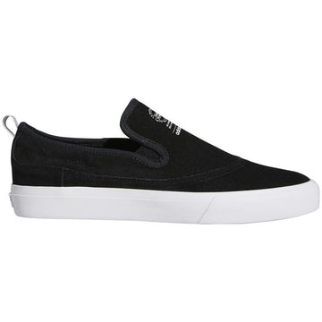 Adidas Matchcourt Skate Shoe Slip in Black White and Gum