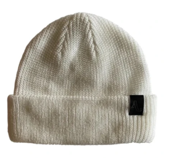 2021 Autumn Simple Beanie in White