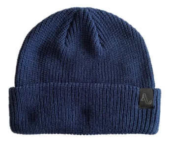 2021 Autumn Simple Beanie in Navy