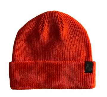2021 Autumn Simple Beanie in Orange