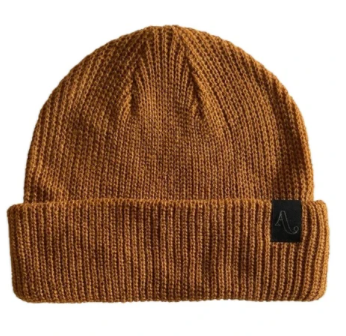 2021 Autumn Simple Beanie in Work Brown