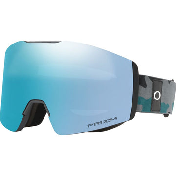 2021 Oakley Fall Line XM Snow Goggle in Balsam Grey Camo with a Prizm Sapphire Bonus Lens
