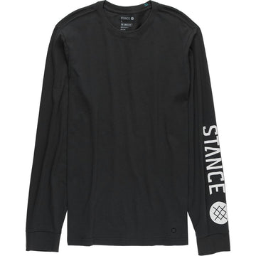 Stance Basis L/S T Shirt in Black