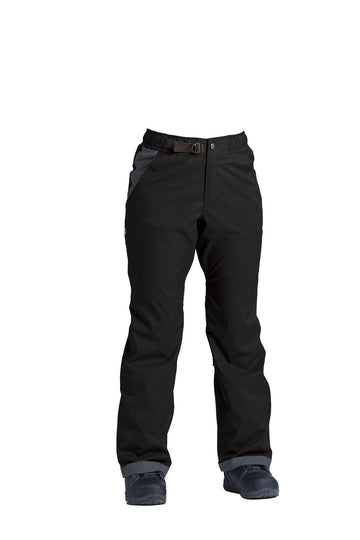 2022 Airblaster Boyfriend Womens Snow Pant in Insulated Black