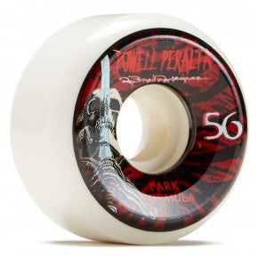 Powell Peralta Park Rippers Skull and Sword Skate Wheels in 56mm