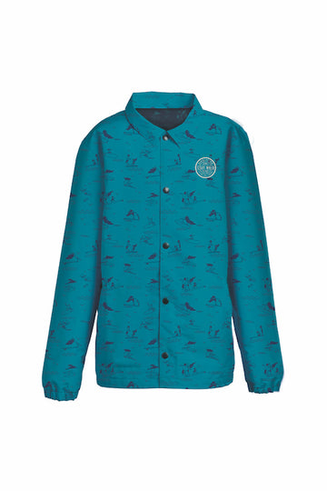 2021 Airblaster Bruiser Jacket in He Teal