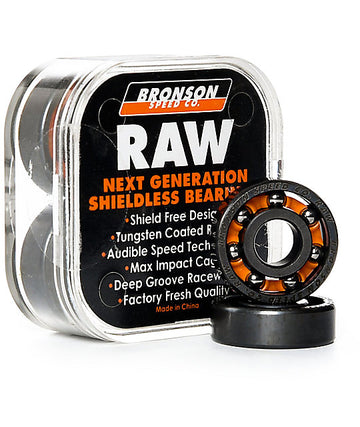 Bronson Speed Co Raw Skate Bearings