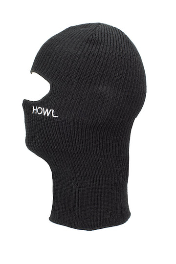 2021 Howl Burglar Facemask in Black