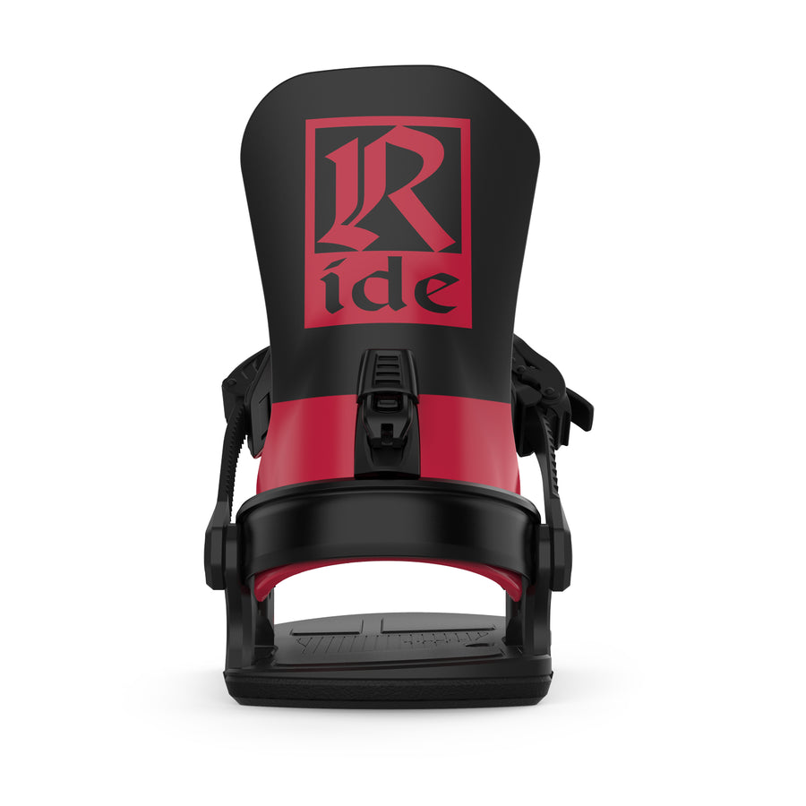 2021 Ride C-8 Snowboard Binding in Red