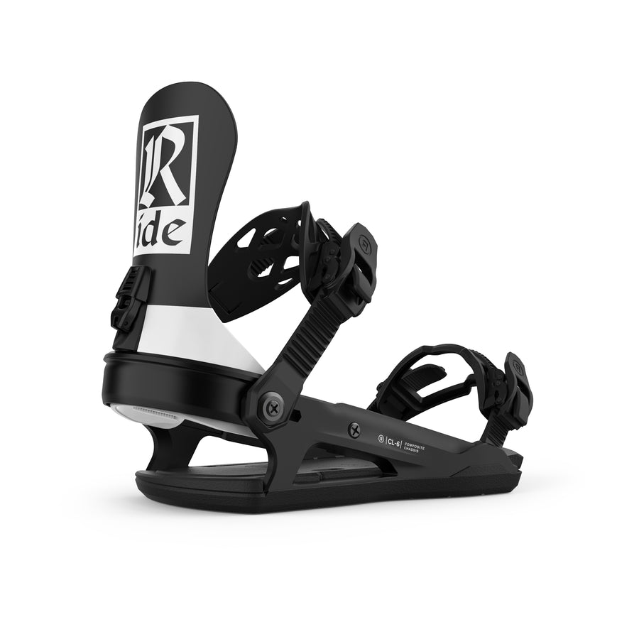 2021 Ride CL-6 Womens Snowboard Binding in Classic Black