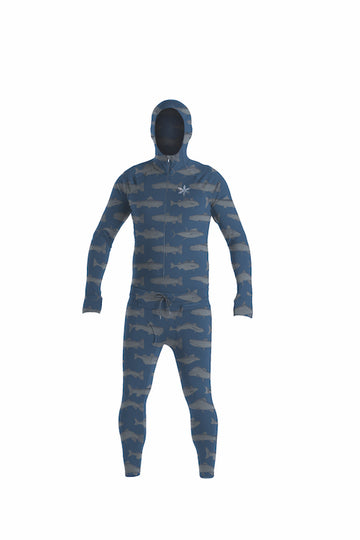 2021 Airblaster Classic Ninja Suit in Navy Fish