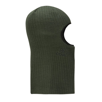 2021 Coal The Knit Clava Balaclava in Dark Green