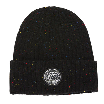 2021 Coal The Oaks Beanie in Heather Black