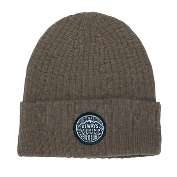 2021 Coal The Oaks Beanie in Khaki