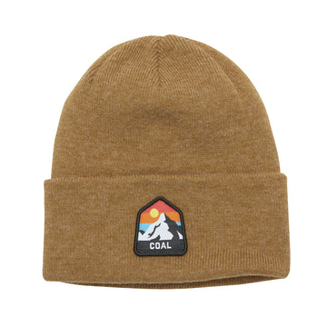 2021 Coal The Peak Beanie Beanie in Heather Mustard