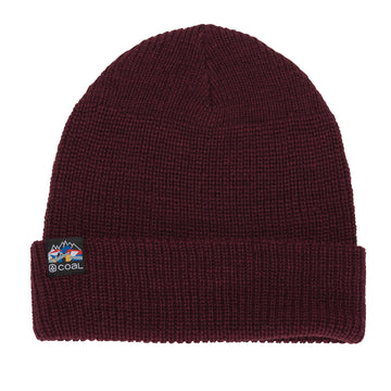 2021 Coal The Squad Beanie in Maroon (Perkins)