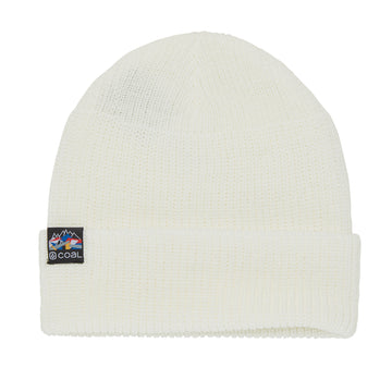 2021 Coal The Squad Beanie in White (Cocard)
