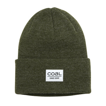 2021 Coal The Standard Beanie in Heather Olive