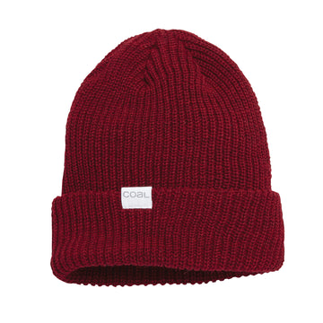 2021 Coal The Stanley Beanie in Dark Heather Red