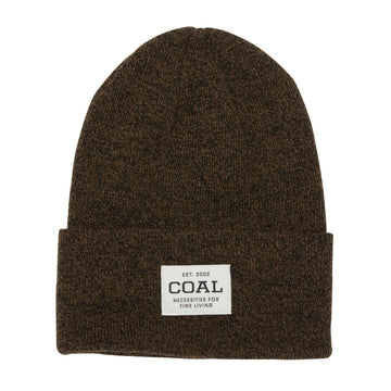 2021 Coal The Uniform Beanie in Black Brown Marl