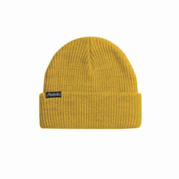 2021 Airblaster Commodity Beanie in Gold