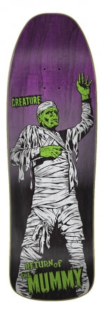 Creature Mummy Skate Deck in 9.35