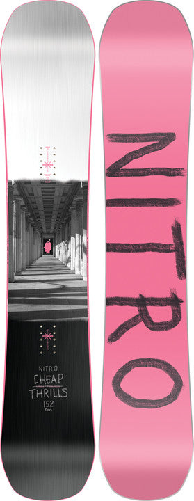 2022 Nitro Cheap Thrills Snowboard
