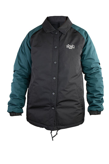 2021 Howl Premium Coaches Jacket in Black