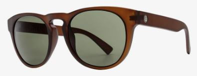 Electric Nashville Sunglass in Cola Frames and a Grey Polarized Lens