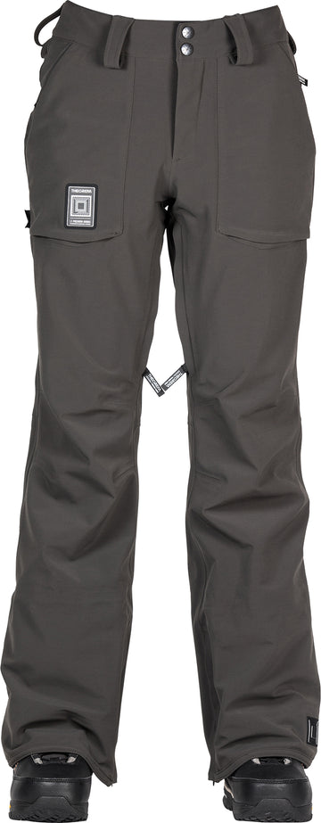 2021 L1 Cosmic Age Theorum Womens Snow Pant in Raven