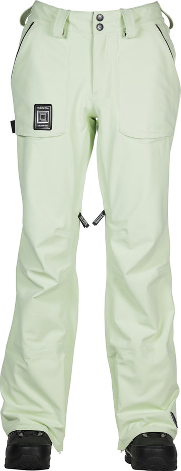 2021 L1 Cosmic Age Theorum Womens Snow Pant in Soft Lime