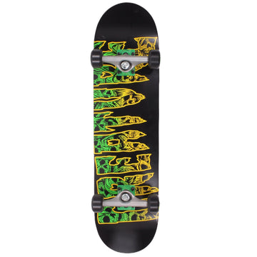 Creature Catacomb Mid Complete Skateboard Deck in 7.8