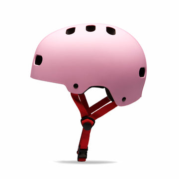 Destroyer DH1 EPS Certified Skate Helmet in Pink Dystipia