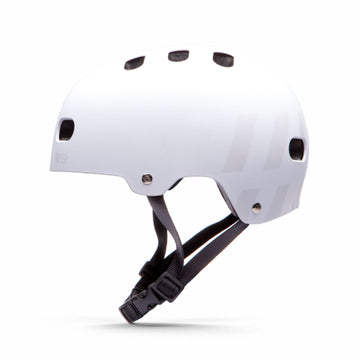 Destroyer DH1 EPS Certified Skate Helmet in White Spectrum