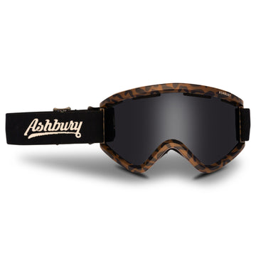 2021 Ashbury Blackbird Snow Goggle Danimals Frame with a Dark Smoke Lens and Yellow Spare Lens