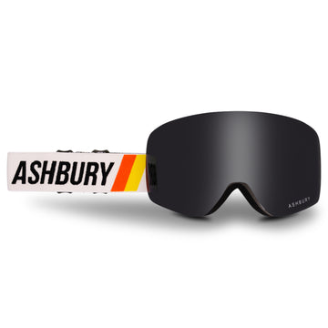2021 Ashbury Sonic Snow Goggle Formula Frame with a Dark Smoke Lens and Yellow Spare Lens
